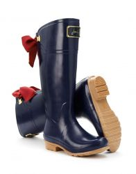 Joules Wellies Rain Boots In Navy