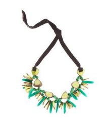 Rhumba Necklace-Lime